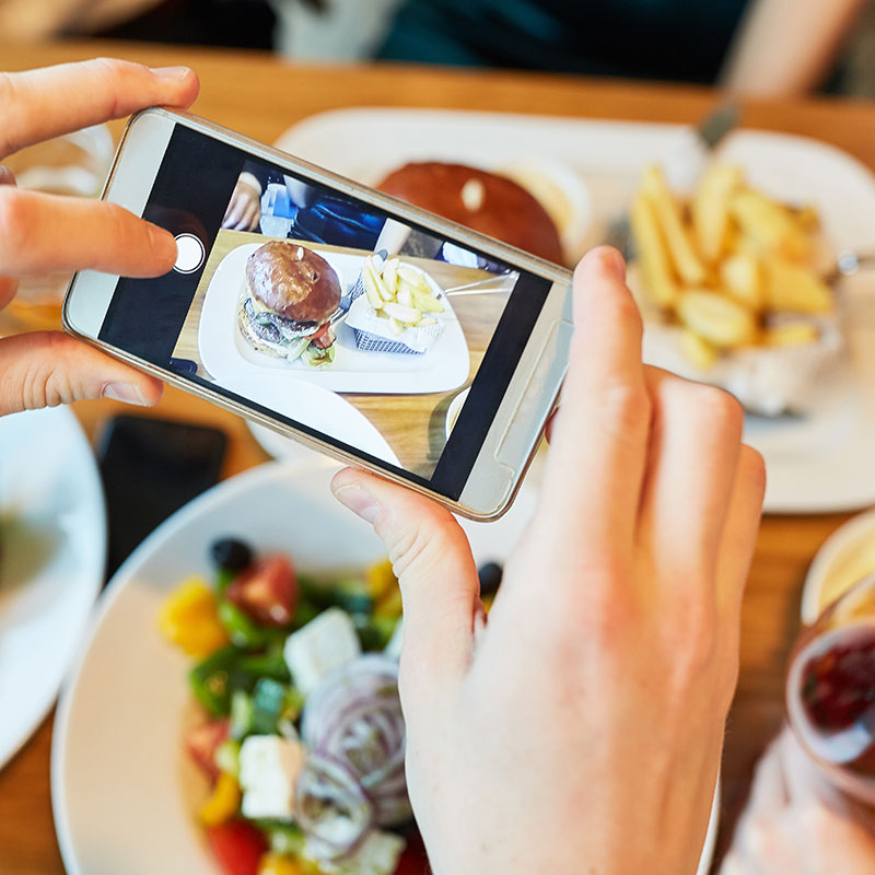 Tiptoe Into Technology: How to Showcase Food